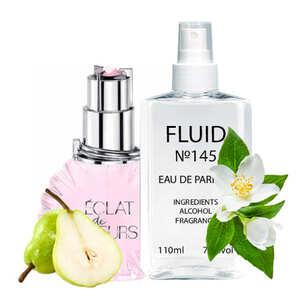 Духи FLUID №145 (аромат похож на Lanvin Eclat de Fleurs) Женские 110 ml