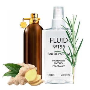 Духи FLUID №156 (аромат похож на Montale Aoud Forest) Унисекс 110 ml