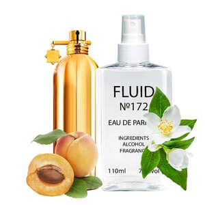 Духи FLUID №172 (аромат похож на Montale Pure Gold) Женские 110 ml