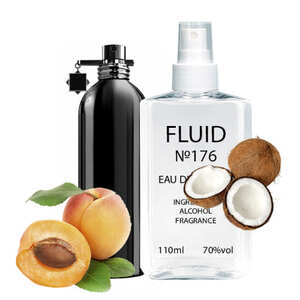Духи FLUID №176 (аромат похож на Montale Royal Aoud) Унисекс 110 ml