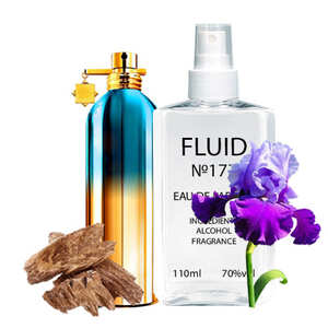 Духи FLUID №177 (аромат похож на Montale So Iris Intense) Унисекс 110 ml