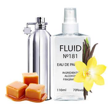 Духи FLUID №181 (аромат похож на Montale Vanilla Cake) Женские 110 ml