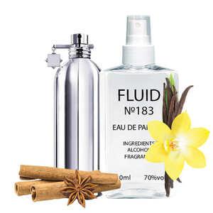 Духи FLUID №183 (аромат похож на Montale Vanille Absolu) Унисекс 110 ml