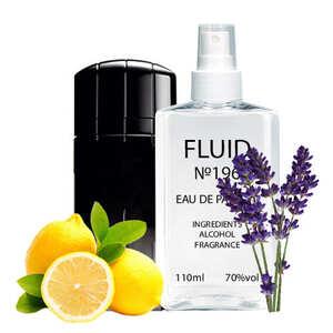 Духи FLUID №196 (аромат похож на Paco Rabanne Black XS L`Exces) Мужские 110 ml