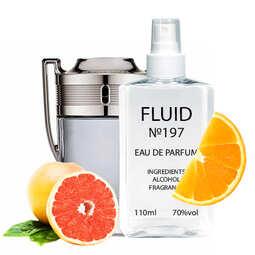Духи FLUID №197 (аромат похож на Paco Rabanne Invictus) Мужские 110 ml