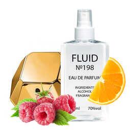 Духи FLUID №198 (аромат похож на Paco Rabanne Lady Million) Женские 110 ml