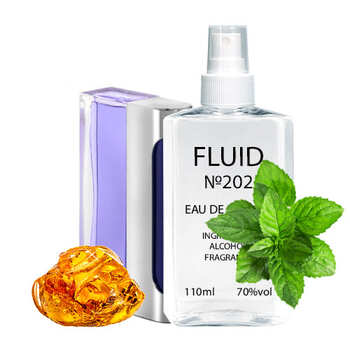 Духи FLUID №202 (аромат похож на Paco Rabanne Ultraviolet) Мужские 110 ml