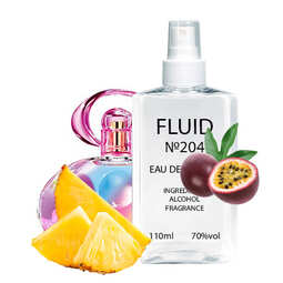 Духи FLUID №204 (аромат похож на Salvatore Ferragamo Incanto Shine) Женские 110 ml