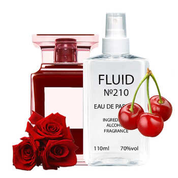 Духи FLUID №210 (аромат похож на Tom Ford Lost Cherry) Унисекс 110 ml
