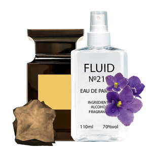 Духи FLUID №211 (аромат похож на Tom Ford Ombre Leather 16) Унисекс 110 ml