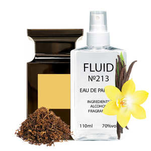 Духи FLUID №213 (аромат похож на Tom Ford Tobacco Vanille) Унисекс 110 ml