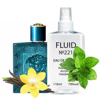 Духи FLUID №221 (аромат похож на Versace Eros Pour Homme) Мужские 110 ml