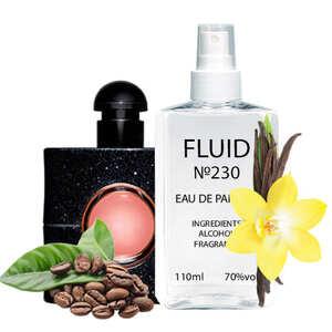 Духи FLUID №230 (аромат похож на Yves Saint Laurent Black Opium) Женские 110 ml